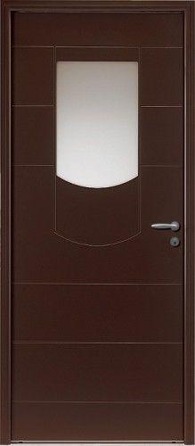 Porte aluminium porte entree bel 39 m contemporaine - Porte d entree bel m aluminium ...