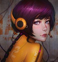 Cybernetic Suit by GUWEIZ  http://ift.tt/2bJuBQr