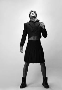 Awesome look! Escaping Heteronormativity Genderbending  Genderfucking  Men in skirts
