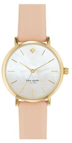 Elegant kate spade watch  http://rstyle.me/n/ea26znyg6