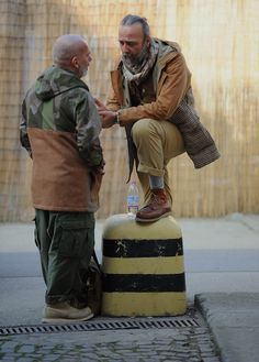 Serious Nigel Cabourn and Red Wing representation here.