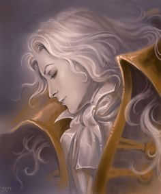Dreaming Alucard by =Candra on deviantART