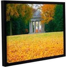 ArtWall Steve Ainsworth Remembrance Gallery-Wrapped Floater-Framed Canvas, Size: 14 x 18, White