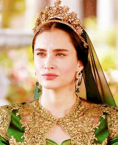 """Turhan Sultan - Magnificent Century: Kösem - """"The Reign of Sable (Sumur devri)"""" Season Episode 29 Kosem Sultan, Indian Wedding Hairstyles, Mary Queen Of Scots, Turkish Beauty, Ethereal Beauty, Book Aesthetic, Royal Ascot, Costume Dress, King Queen"""