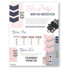 Mary Kay Hostess Program!! This program is super simple, adorable & easy to use! You don't need to give away the whole store at your parties. Follow the program Mary Kay Ash taught! Find it only at www.thepinkbubble.co!!