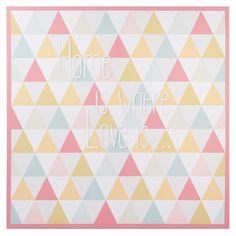 Toile à motifs triangles  VINTAGE