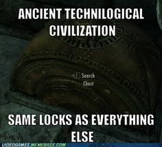 Damned Dwemer and Their Damn Locks