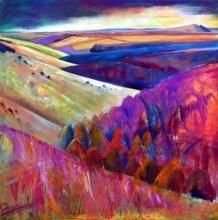 Interlocking Fields by Sue Fawthrop