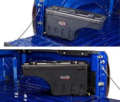 Truck Bed Storage Box, Truck Bed Tool Boxes, Truck Tools, Garage Storage, Toyota Tundra, Toyota Tacoma, Toyota Suvs, 2014 Tacoma, Truck Tailgate