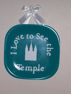 Sew Good  I Love to See The Temple