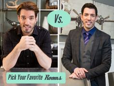 Vote for Your Favorite Property Brothers Rooms : Brother vs Brother : Home & Garden Television