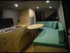 Layout vw t5 forum and vw t5 on pinterest for Vw t4 interior designs