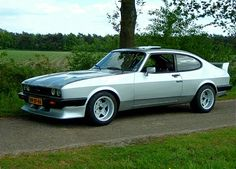 Ford Rs, Car Ford, Ford Capri, Classic Motors, Classic Cars, Classic Auto, Ford Motorsport, Mercury Capri, Ford Sierra