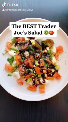 Trader Joes Healthy Snacks, Trader Joes Salad, Trader Joes Vegetarian, Trader Joes Food, Trader Joes Chicken Salad Recipe, Gluten Free Trader Joes, Trader Joe's, Healthy Salad Recipes, Veggie Recipes