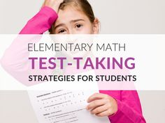 Test Taking Skills, Test Taking Strategies, Math Strategies, Math Resources, Reading Comprehension Test, Ged Math, Math Practice Test, Test Guide, Vocabulary Exercises