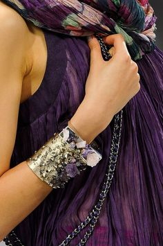 Chanel Fall collection with bangles