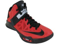 Nike Zoom Soldier VI Mens Basketball Shoes 525015-600 « Clothing Impulse