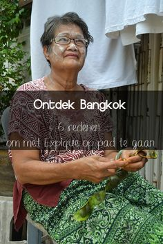 Ontdek het mooie Bangkok.