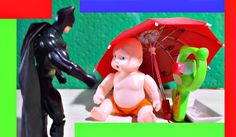 Baby And Batman Feels Very Hot, What Happens Then -  Children Video