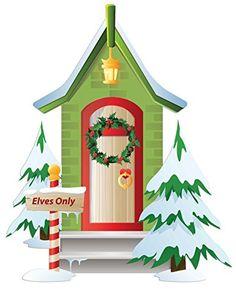 Holiday Wall Decor - Christmas Elf Door - Deluxe Canvas D... https://www.amazon.com/dp/B01N8UP3B3/ref=cm_sw_r_pi_dp_x_PUOjyb6M1818E