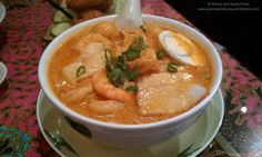 Seafood Laksa @ Penang Delight Cafe in Vancouver