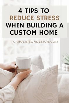 Building a home can certainly be one of the most stressful projects you'll experience in your life. However, it doesn't have to be super stressful! I'm sharing 4 tips to help you reduce stress while building your house!