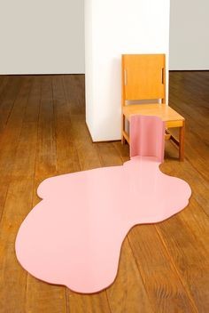 Chairs and Other Sculptural Objects That Melt Into the Floor by Tatiana Blass