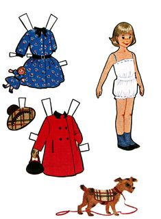 Paper doll sight with multi cultural and multi generational dolls printer friendly and free