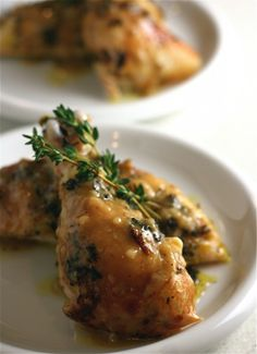 Roasted Citrus-Herb Chicken
