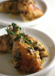 Roasted Citrus-Herb Chicken