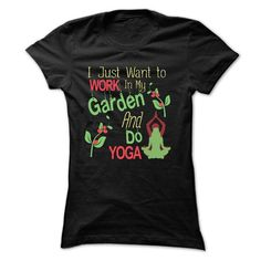 GARDENING AND YOGA - #groomsmen gift #baby gift. CHEAP PRICE => https://www.sunfrog.com/Hobby/GARDENING-AND-YOGA.html?68278