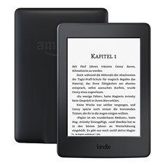 Kindle Paperwhite eReader, 15 cm (6 Zoll) hochauflösendes Display (300 ppi) mit integrierter Beleuchtung, WLAN schwarz - mit Spezialangeboten - Amazon Kindle Paperwhite ebook Reader