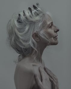 ICON  photo: Evelyn Bencicova  hair and make-up: Adam Csoka Keller  model: Anna