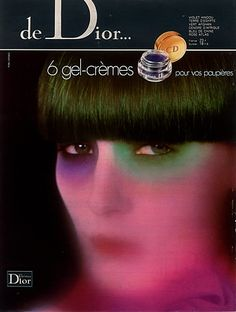 Christian Dior (Cosmetics) 1976 Eye Make-up Vintage advert Cosmetics