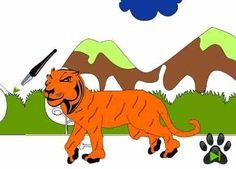 Online coloring books for kids fast tiger http://veu.sk/index.php/detske-omalovanky/1075-online-omalovanka-rychly-tiger.html #online #coloring #books #kids #fast #tiger