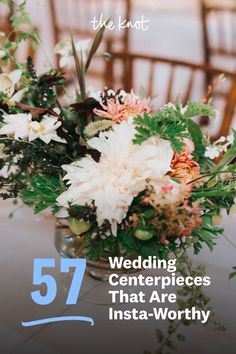Looking for centerpiece ideas for your guest tables? Check out these top picks for wedding centerpieces from The Knot editors and find everything from rustic wedding centerpieces to colorful wedding centerpieces made to match your unique wedding. Personalize your wedding and put a spin on tradition with The Knot's customizable wedding websites, wedding invitations, registry (and more!).