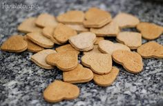 Dog Cake Recipes, Dog Food Recipes, Yummy Cookies, Cupcake Cookies, Cake Factory, Dog Cakes, Vegan Ice Cream, Whoopie Pies, Portuguese Recipes