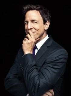 """Seth Meyers. From """"We'll Do it Late."""" January 13, 2014 issue."""