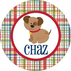 Personalized Puppy Plate Personalized melamine plate childrens dinnerware kids plate  sc 1 st  Pinterest & Personalized Kids Plate by Pink Wasabi Ink   personalized kids ...