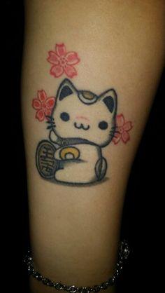 My Maneki Neko Tattoo
