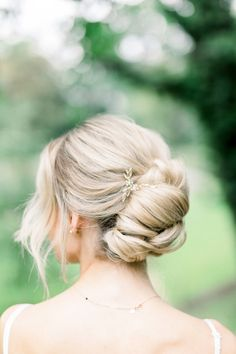 An Intimate Wedding Inspired by Tuscan Architecture Decorated in All Things Ochre Bridal Hairdo, Bridal Hair And Makeup, Hair Makeup, Bridal Beauty, Wedding Looks, Fall Wedding, Garden Wedding, Wedding Blog, Wedding Decor