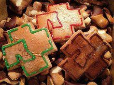 Rammstein cookies! R+