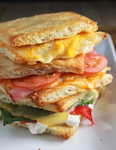 Grilled cheese sandwiches on your outdoor grill!