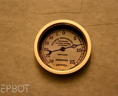 EPBOT: DIY Steampunk Gauges
