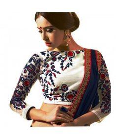 Latest Arrival Blouse Material.. http://www.kmozi.com/designer-blouse/designer-saree-blouse/latest-arrival-blouse-material-1033