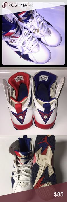Olympic Jordan 7 Barely even wear these anymore don't need them Jordan Shoes Sneakers
