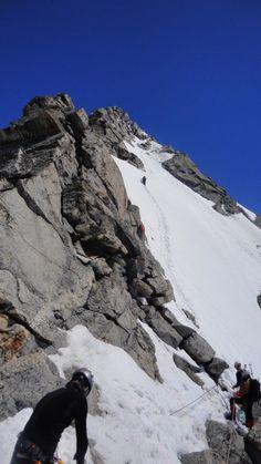 Alternativer Aufstieg bei verstecktem Klettersteig