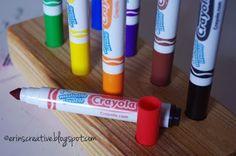 Erin's Creative Energy: Marker Caddy