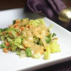 Thousand Island Dressing: ubiquitous, popular, familiar, and really easy to make from scratch!