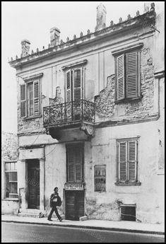Greece Pictures, Old Greek, Good Old Times, Neoclassical, Vintage Pictures, Abandoned Places, Athens, Old Photos, Wwii